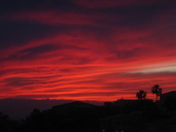 Great sunset. Night 2.