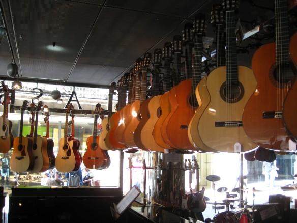 Guitars! Finally!