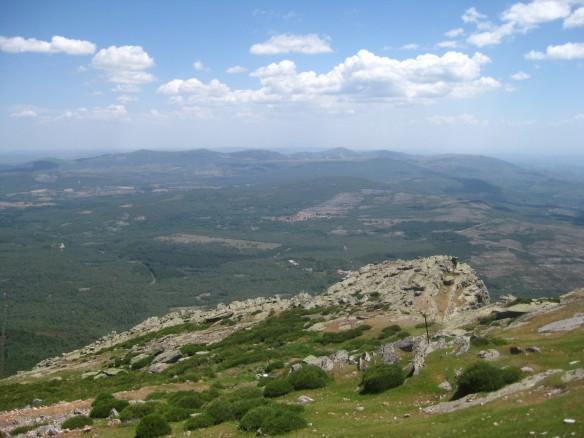From the top of La Pena de Francia.