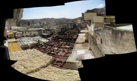 Leather Tanning Pits, Fes, Morocco